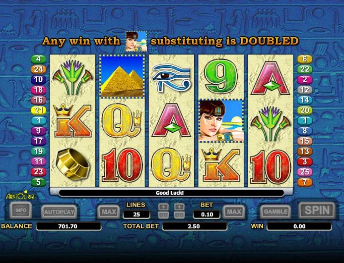 Spiele Treasure Of The Nile - Video Slots Online
